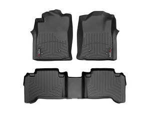 Weathertech Floorliner Mat For Toyota Tacoma Double Cab 2008 2011 Black