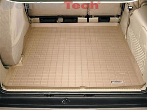 Weathertech Cargo Liner Trunk Mat For Ford Excursion Large 2000 2005 Tan