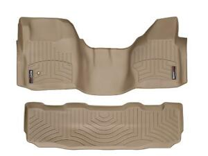 Weathertech Over The Hump Floorliner Set For Ford Superduty Supercrew 2008 2010