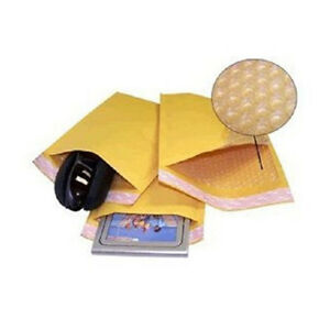 500 000 4x8 Kraft Bubble Padded Envelopes 4 5 X 8 X wide Mailers Bags