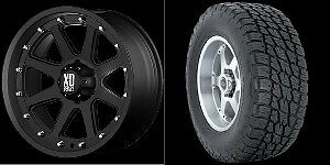 20 Wheels Nitto Tires Black Chevy Silverado Tahoe Gmc Truck Sierra Yukon 6 Lug
