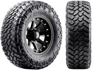 4 New 255 75 17 Nitto Trail Grappler M T Mud 75r17 R17 75r Tires