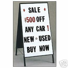 Sidewalk A frame 21 x41 Double Sided Message Board Sign