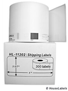 100 Rolls Of Dk 1202 Brother compatible Shipping Labels bpa Free