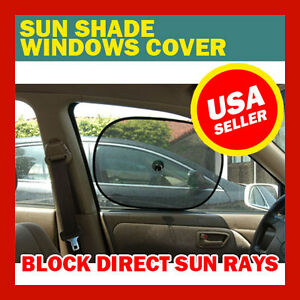 Two Sun Shades For Car