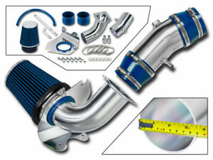 3 5 Blue Cold Air Intake Induction Kit Filter For 94 95 Mustang Gt 5 0l V8