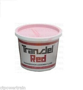 Transjel Red Spx Filtran Transmission Assembly Lube Very Litetack Gel Red Jel