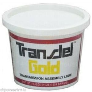 Transjel Gold Spx Filtran Transmission Assembly Lube Gel Medium Tack Jel Trans