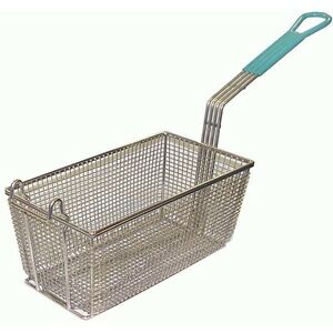 Gsw Set Of Two Nickel Rectangle Fry Basket 5 1 2 x11 1 4 x6 1 8 Fb n0511