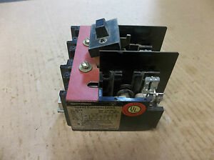 Westinghouse Disconnect Switch Dsi61r 3 Pole 600 Ac 250 Dc 30a 30 A Amp