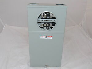 Siemens Meter Socket Ms17tb 100a 3 Phase 600v Max New