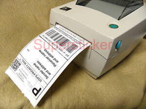 11 Rolls Of Direct Thermal Shipping Labels 4x6 For Zebra Lp Tlp 2844 3842