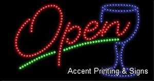 Open High Impact Eye catching Led Sign