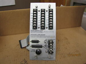 Bently Nevada Pc Board For Distribution Module 78432 04 A 250v 20 34vdc 8 Amp
