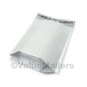 150 2 Gusseted poly 8 5x12 Bubble Mailers Envelopes Bags 100 Recyclable Usa