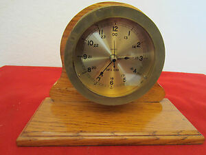 Maritime Quartz Brass Ship S Mantle Clock