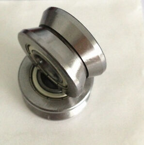 1pc New V Groove 15 41 20mm Sealed Ball Track Roller Guide Vgroove Bearing