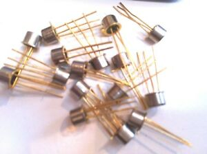 Ga201a Thyristor Scr 100v 3 pin To 18 Lot Of 10 Unmarked