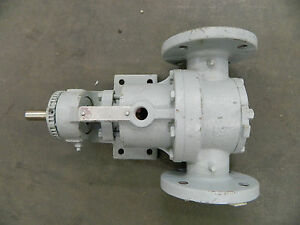 Rebuilt Viking H724 Stainless Steel S s Pump 3 4 Shaft Dia 2 Flange