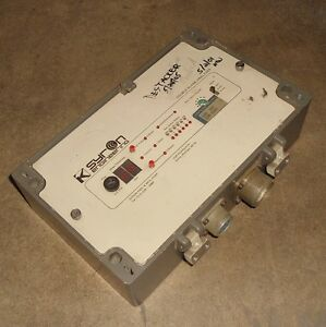 Syron Engineering Double Blank Analyzer no Part Label pzf