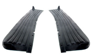 Chevrolet Chevy Car Running Board Mat Cover Set Precision Moulded Rubber 1940