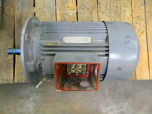 Rebuilt No Name Electric Motor 11kw 15hp 460v Volt 3ph 3 Phase 3500 Rpm