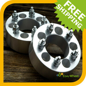 2 Ford Wheel Spacers Adapters Fits All Mustang Explorer Ranger Edge Flex