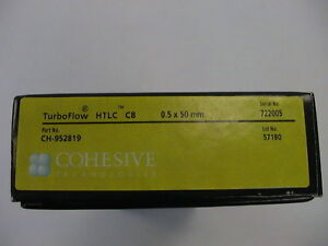 New Thermo Cohesive Technologies Hplc Htlc C8 Column 5mm X 50mm Part Ch 952819