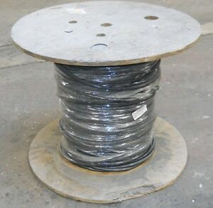 14 Awg Black 4 Conductor Wire 100 Foot New