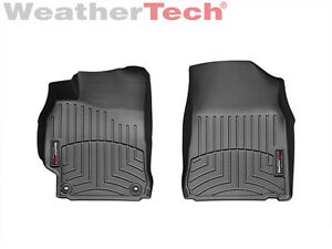 Weathertech Floorliner Floor Mats For Toyota Camry 2012 2014 5 1st Row black