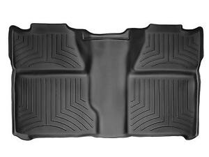 Weathertech Floor Mat Floorliner For Silverado Sierra Crew Cab 2nd Row Black