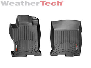 Weathertech Floorliner Mats For Honda Accord 2013 2017 1st Row Black