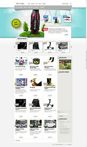 Affiliate Golf Online Business Turnkey Website For Sale