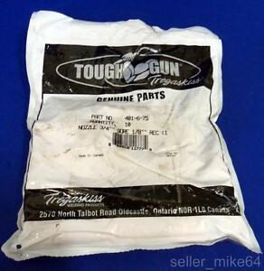 Tregaskiss 401 6 75 Tough Gun Mig Welding Nozzle Lot Of 10 New In Bag pzb
