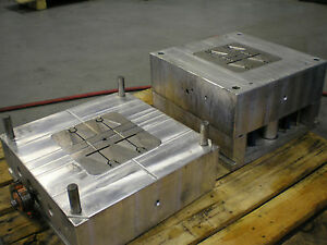 Plastic Injection Mold Rebar Holders 3 Seperate Molds Multi cavity