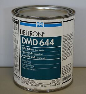 Ppg Deltron Dmd 644 Indo Yellow Red Shade Universal Mix Toner Paint Toner Qt