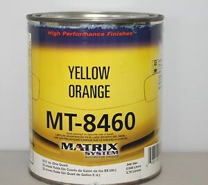 Matrix Mt8460 846j Yellow Orange Mixing Base Toner Dupont Replace Paint Toner Qt