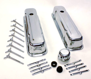 Pontiac Chrome Engine Dress Up Kit 301 455 Tall