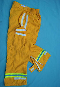 Pia Firefighter Wildland Overpants W reflector Stripes various Sizes