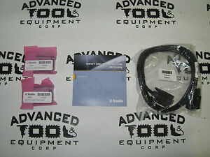 New Trimble 50589 10 R8 Gnss R6 5800 Rover Battery Cable Cd Kit W 54344