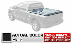 Hard Tonneau Cover Styled Truck Lid Painted Black For Dodge Ram 78 Short Bed