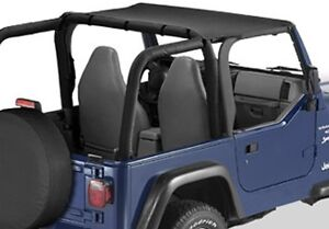 1997 2006 Jeep Wrangler Unlimited Tj Lj Bikini Bimini Top Black