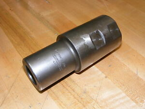 Weldon End Mill To Morse Taper Adapter 2 5 End Mill To 4 Morse Taper Cm 4