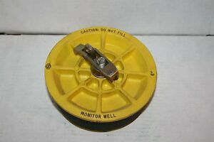 New Ebw franklin 772 109 01 6 Monitoring Well Cap Plug Yellow