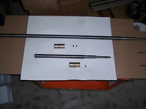 Leadscrew Manual Cross Feed Assy X And Y Axes 9x42 Table For B port Mills