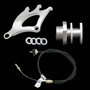 1979 1995 Mustang Quadrant Clutch Cable And Firewall Adjuster Kit Free Shipping