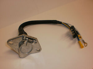 Trailer Plug Light Cord Adapter 4 Way Truck To 6 Way Trailer Wire Harness Horse