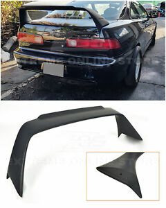 Mugen Style Abs Plastic Rear Trunk Wing Spoiler For 94 01 Acura Integra 3dr Dc2