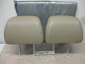 00 Saab 95 Front Leather Seats Headrest