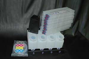 Vertical Bulk Ink System 4x8 For Roland Vs Model Printers Us Fast Shipping